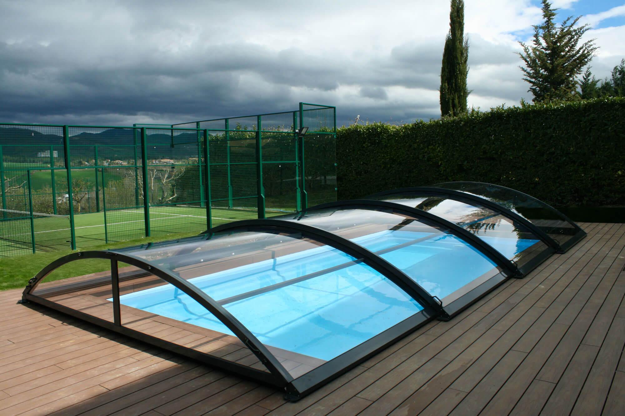 Cubiertas piscinas